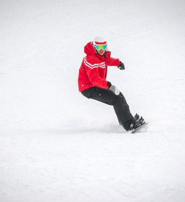 Snowboard freeride