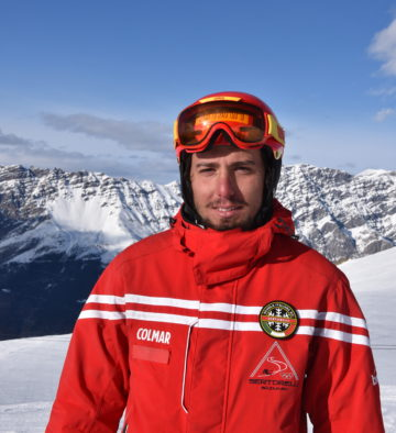 Riccardo Toppan maestro di sci Bormio
